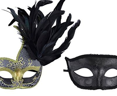 Coxeer-Couple-Masquerade-Masks-Venetian-Halloween-Costume-Mask-Mardi-Gras-Mask-0
