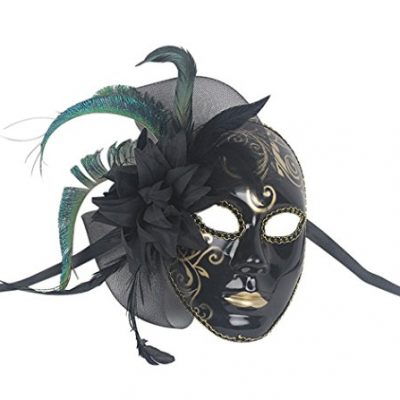 Coxeer-Womens-Masquerade-Mask-Halloween-Costume-Mask-Sexy-Mardi-Gras-Mask-0