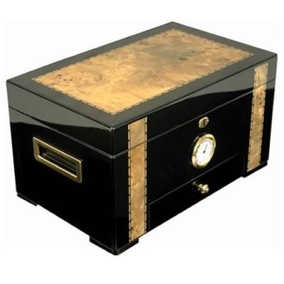 Cuban-Crafters-Exotica-EbonyCigar-Humidor-125-count-0