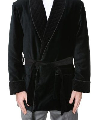 Mens-Smoking-Jacket-Maxwell-Black-Large-0