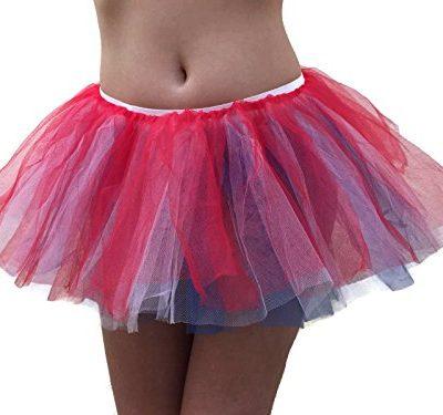 Rush-Dance-Womens-Multi-Color-Organza-Sexy-Rave-Costume-Tutu-0