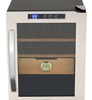 Whynter-CHC-120S-Stainless-Steel-Cigar-Cooler-Humidor-12-Cubic-Feet-0
