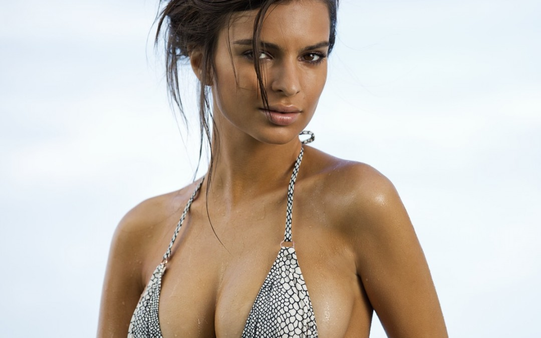 Sports Illustrated Swimsuit Model Emily Ratajkowski in Body Paint