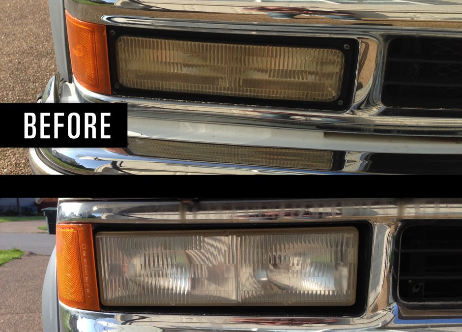 How to Clean your Headlights Like a Pro for only Pennies.