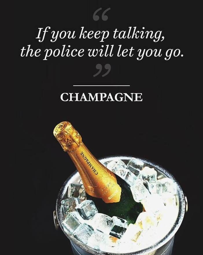 If Champagne Could Talk