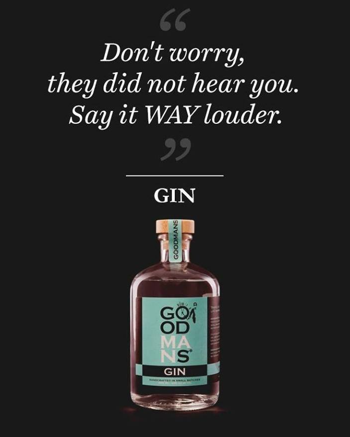 If Gin Could Talk