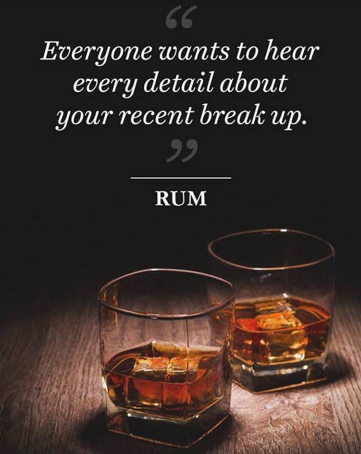 If Rum Could Talk