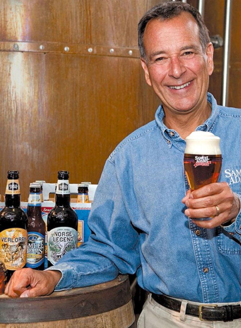 Jim Koch secret to not getting drunk