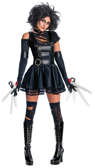 Edward Scissorhands Secret Wishes Sexy Miss Scissorhands Costume