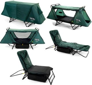 Kamp-Rite Tent Cot. The Sit, Lounge, or Sleep Anywhere In Seconds Camping Tent