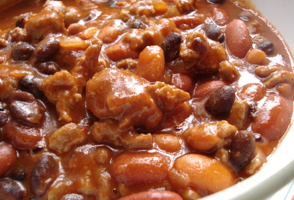 Beer Recipe for Turkey Chili a' la Beer