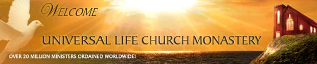 Universal Life Church Monastery Website Header