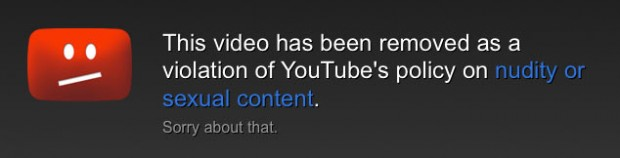 Banned YouTube Video